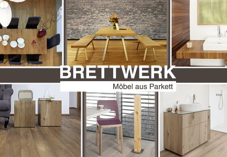 Möbel aus Parkett und Holz